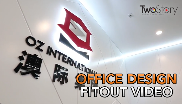 Office design fitout video